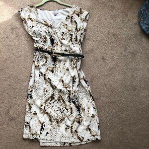 Worthington animal print dress
